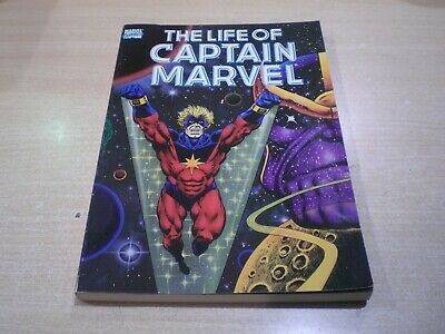 THE LIFE OF CAPTAIN MARVEL - Marvel Comics 1990