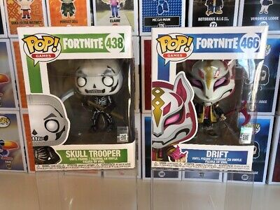 Fortnite Funko Pop Bundle Skull Trooper & Drift Vinyl Figures