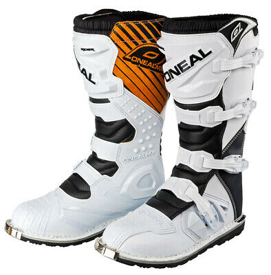 New Oneal Rider White Motocross Enduro Boots 7 8 9 10 11 12 O'Neal MX