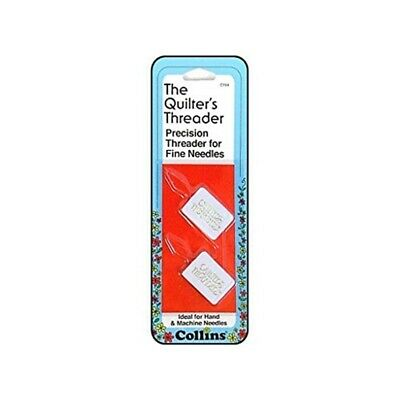 Collins Needle Threader For Hand & Machine Needles - Quilters Pkg