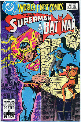 World's Finest #301 302 303 304 305 306 307 308 309 310 (1984) Nm- White Pages