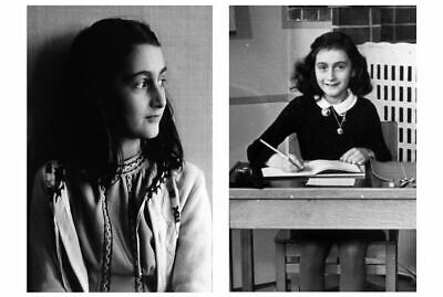 1941 Anne Frank PHOTO Lot, World War 2 Holocaust Diary German Concentration Camp