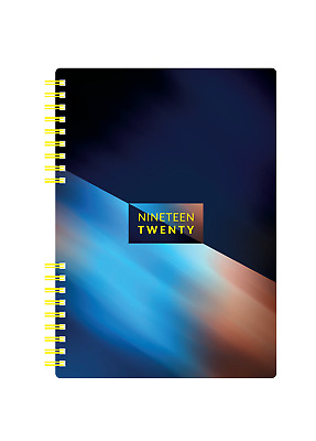 Collins Mid Year Academic A5 Diary Day Per Page 2019-2020 Metric Note Book 851M
