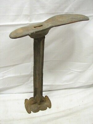 Antique Cobbler's Shoe Last Iron Foot Anvil Making Tool Boot Stand Steam Punk