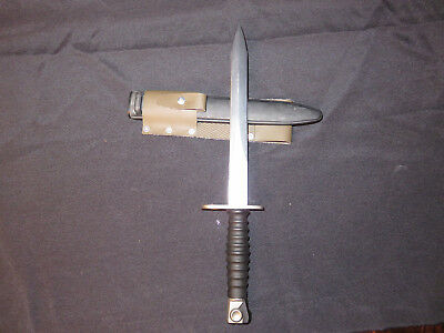 Vintage Swiss 1957 Bayonet with Scabbard