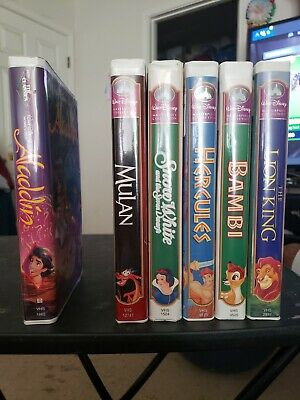 Aladdin black diamond collection. All others are disney masterpiece collections.