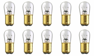 CEC Industries #1143IF Frosted Bulbs 12.5V 24.75W BA15s Base Box of 10