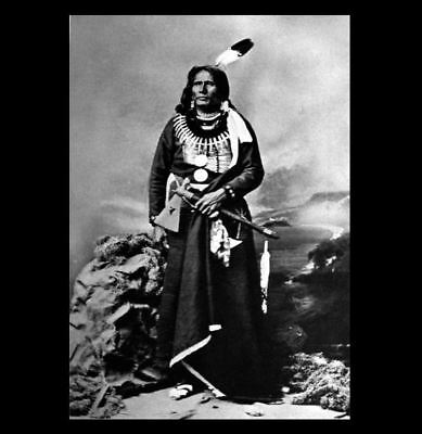 1877 Chief Standing Bear PHOTO Ponca Indian Native American Rights Leader