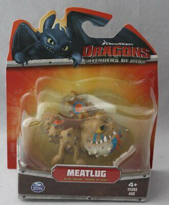"""How To Train Your Dragon Meatlug Racing Stripes  2014 3"""" Action Figure New Mip"""