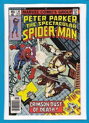 Peter Parker, The Spectacular Spider-Man #30_May 79_Vf_Carrion_White Tiger!
