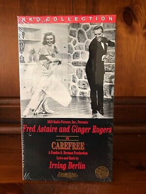 Carefree (VHS) - Fred Astaire & Ginger Rogers - B&W - In Plastic