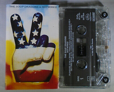 The Soup Dragons – Hotwired, 1992 Audio Cassette