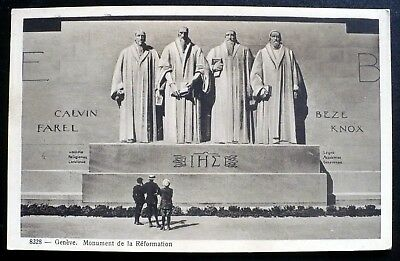 1920s Geneva Switzerland Reformation Monument Calvin Beze Knox Farel