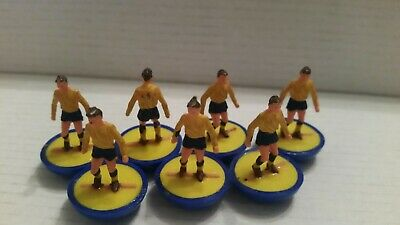 Subbuteo Heavyweight Hw Football 7 Spare Players Ref 47 Arsenal 2Nd Oldham Vgc