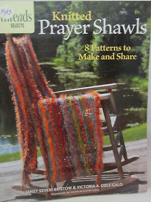 PRAYER SHAWLS KNIT Crochet 14 PATTERN 2 NEW Book Gifts of
