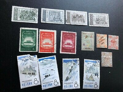 china stamps used collection a2310