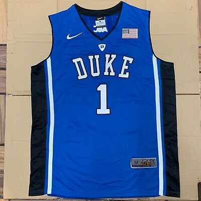d12aefc0bee3 Zion Williamson Elite Duke Blue Devils Mens Basketball Stitched Jersey  Medium