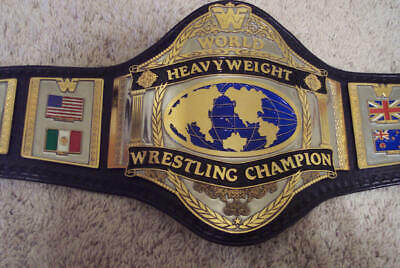 Wwe, Wwf World Heavyweight Wrestling Champion Replica Belt Adult Size