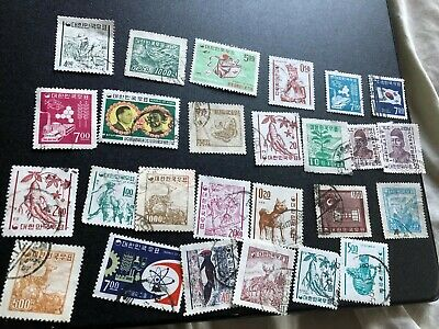 korea stamps collection used a2331