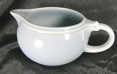 Vintage-TAYLOR-SMITH-TAYLOR-LuRAY-PA Lovely Blue Creamer in Excellent Shape