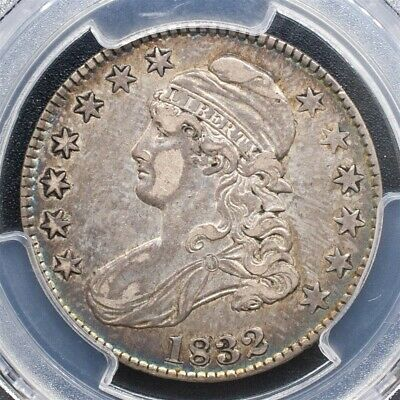 1832 Capped Bust Half Dollar Overton O-121 -PCGS XF40-Sm. Letters-CAC Certified