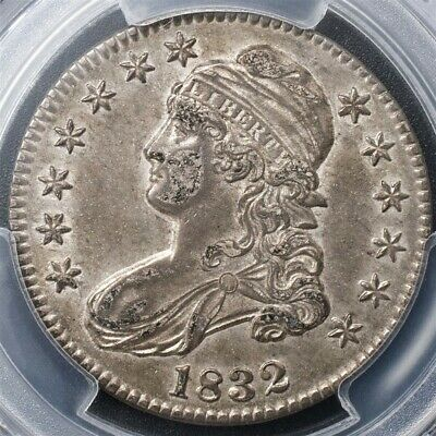 1832 Capped Bust Half Dollar Overton O-106 - PCGS AU53 - Sm. Ltrs- CAC Certified