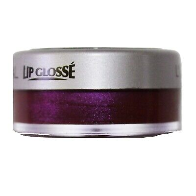 L'OREAL* (1) Tub LIP GLOSSE Gloss SHIMMER Discontinued VIOLET SEQUIN Mirror RARE