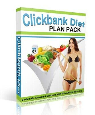 New Clickbank Diet Plans Pack (ebook-pdf plr file) Can be sold