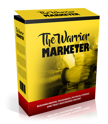 The Warrior Marketer (ebook-pdf plr file) Can be sold