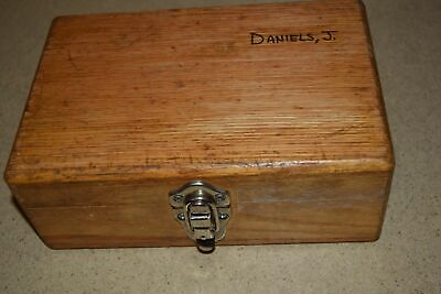 "++ HILGER & WATTS 6""x9""x3.5"" CB72 WOODEN BOX (E)"