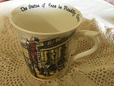 Queen's Bone China Mug England.   Scenes Of Old London By Carole Watson