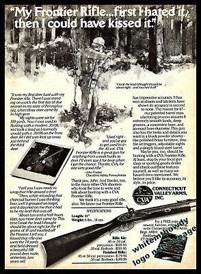 1977 PRINT AD of CVA Connecticut Valley Arms Tower Pistol
