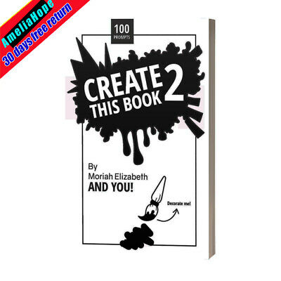 Create This Book Volume 2 Creative Adult DIY Coloring Moriah Elizabeth Paperback