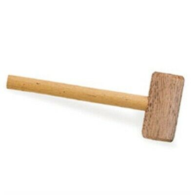 """Tandy Leather Factory Wooden Mallet-9"""" Handle W/1.5""""x4"""" Head - Mallet9 W15x4"""
