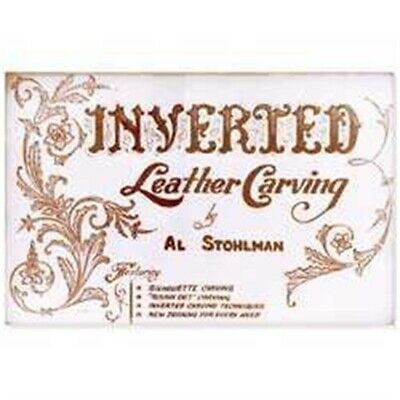 Inverted Leather Carving Book - Tandy Craft 6046-00 How To Guide Patterns