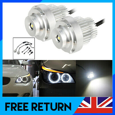 1 Pair Cree LED  Angel Eyes Halo Ring Light Bulb For BMW 5 E60 LCI  63127187952