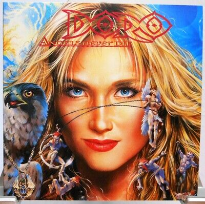 DORO + CD + Angels Never Die + 12 starke Rock Songs + Special Edition (295)