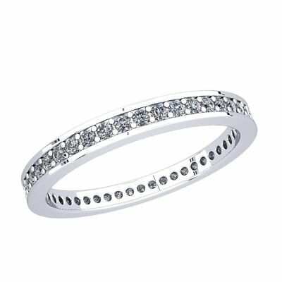 9ad1a0a6b3d 18CT WHITE GOLD Dazzling Real Diamond Trilogy Ring £3495.00 vs2 ...