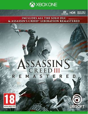 Assassin's Creed III Remastered (Xbox One) BRAND NEW AND SEALED - QUICK DISPATCH