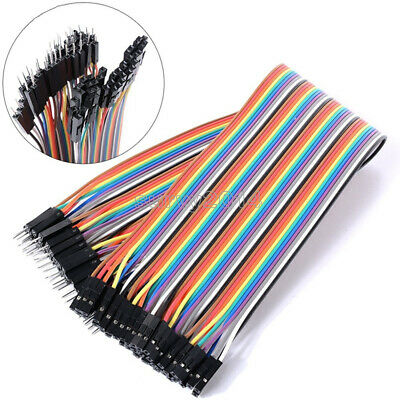 1/2/5/10PCS 20cm 2.54MM male to female 1P-1P 40pin Dupont Wire Jumper Cables