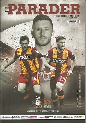 2017/18 League Bradford City v Northampton Town
