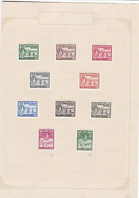 turks and caicos islands mounted mint stamps ref r8351