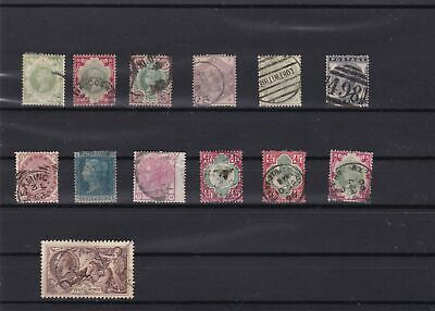 great britain high cat value stamps ref r8955