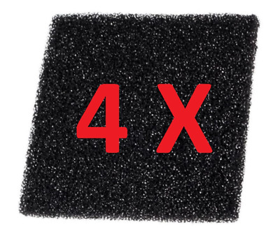 4-Pack Filters for  Soldering Smoke / Fume Extractor/Absorber, Activated Carbon