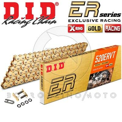 Catena Di Trasmissione Did 520Ervt (Vt2) 120 Maglie Oro X-Ring Moto Enduro Cross