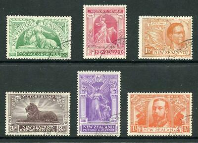 New Zealand SG453/8 1915 Victory Set Fine used