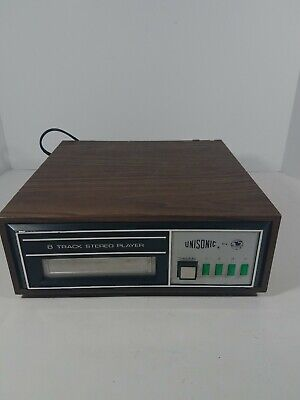 Unisonic 8 Track Stereo Player # 8585A