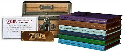 Legend of Zelda Collector's Edition Strategy Guide Box Set Brand New
