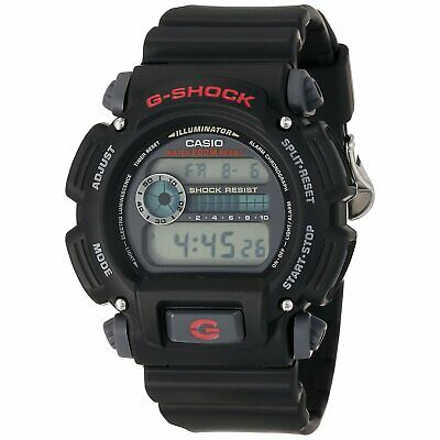 Casio Men's DW9052-1V G-Shock Black Stainless Steel Digital Watch