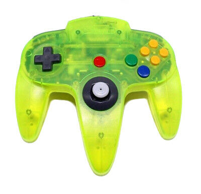 Nintendo 64 Controller: Limited Edition Extreme Green For N64 Remote 7E
